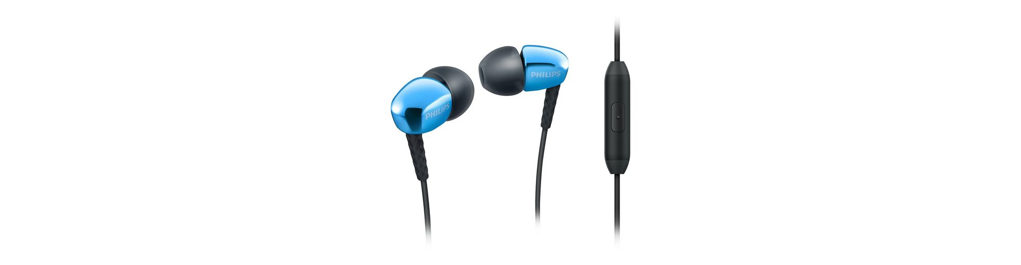Philips InEar Headset Kopfhörer »SHE3905/00 blau«