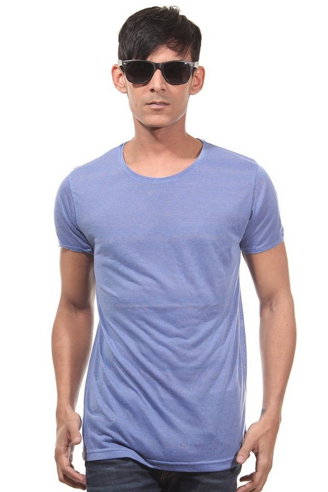 CATCH T-Shirt Rundhals slim fit in blau