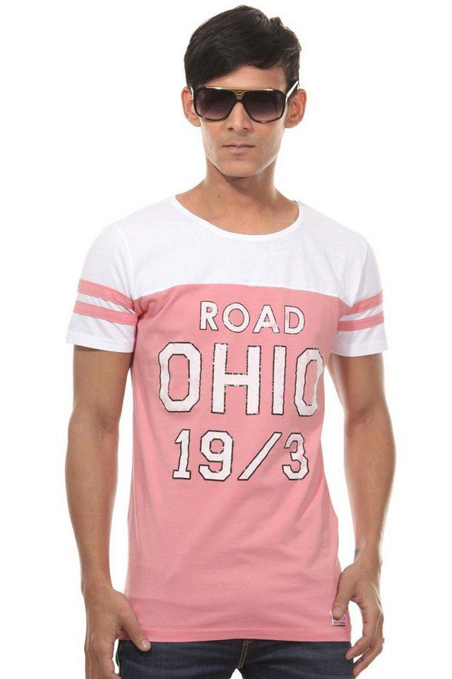 CATCH T-Shirt Rundhals slim fit in pink
