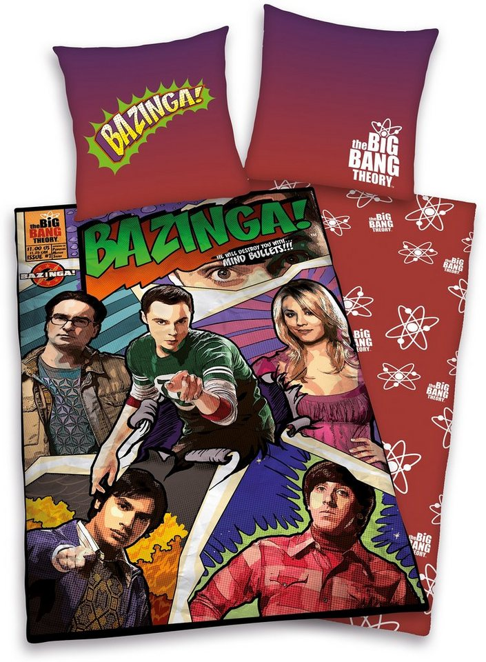 Wendebettwäsche, The Big Bang Theory, »Comic«, in multi