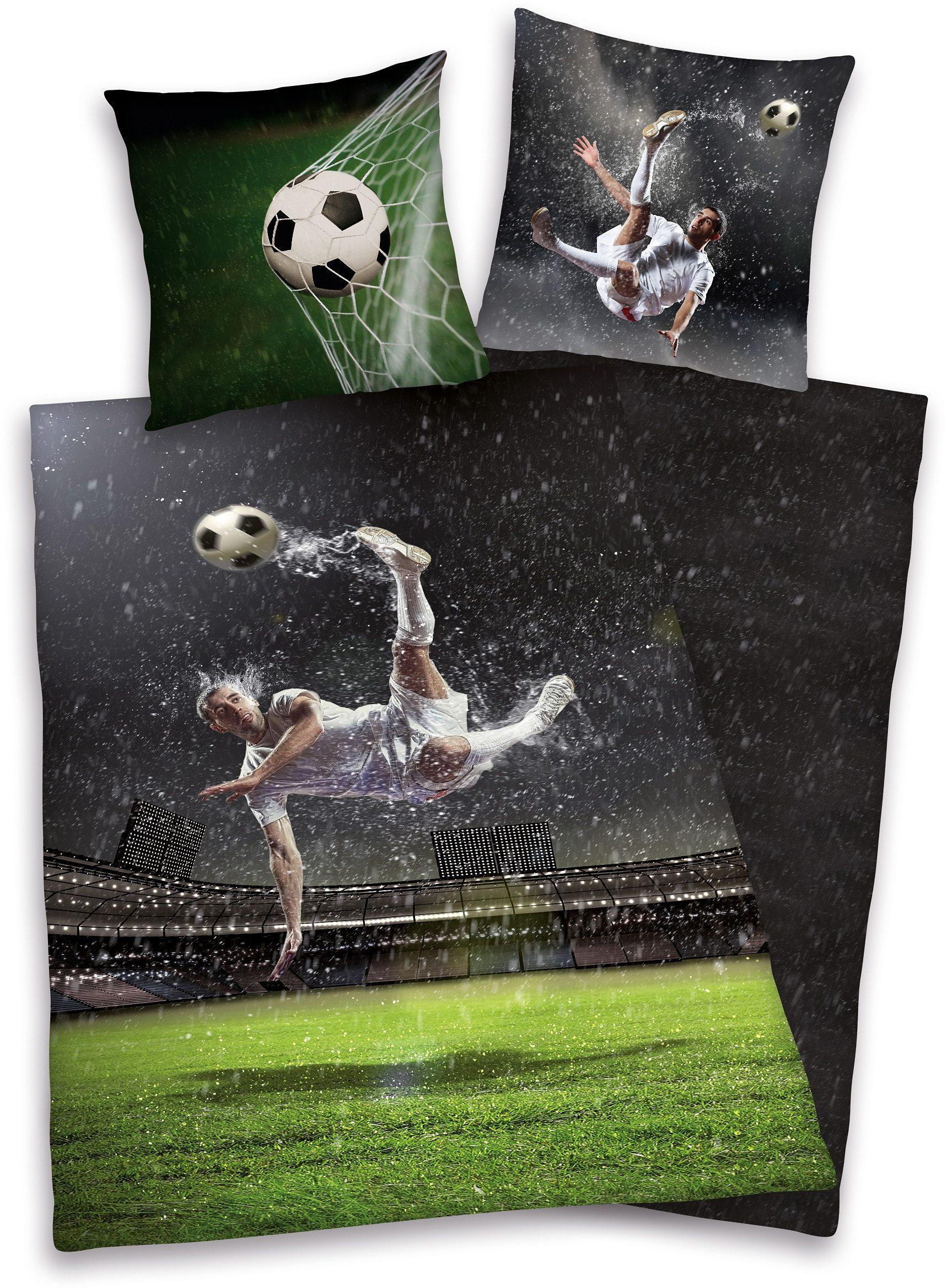 Wendebettwäsche, Young Collection, »Fußball«, für Fußballfans