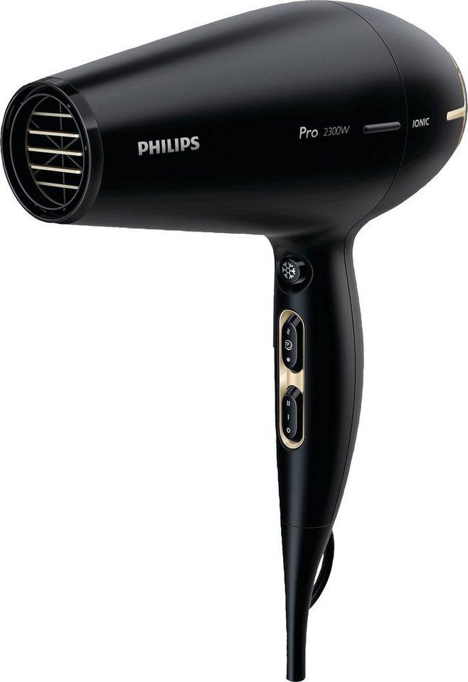 Philips Haartrockner HPS920/00 Pro Serie, 2300 W, AC Motor, Ionenfunktion in schwarz