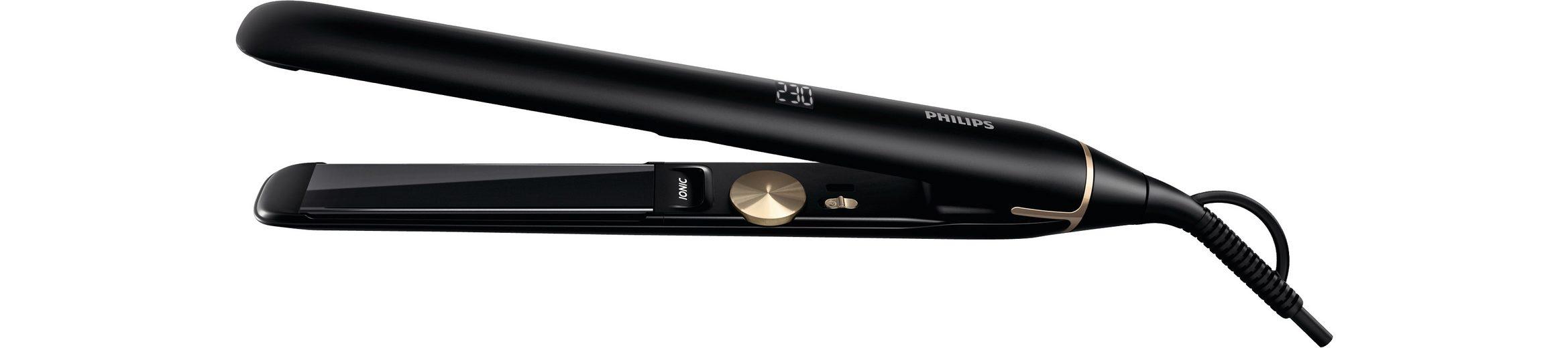 Philips Haarglätter HPS930/00 Pro Serie, Ionenfunktion, Titanbeschichtung