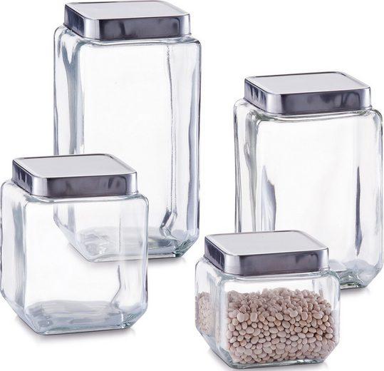 Zeller Present Vorratsglas, Glas