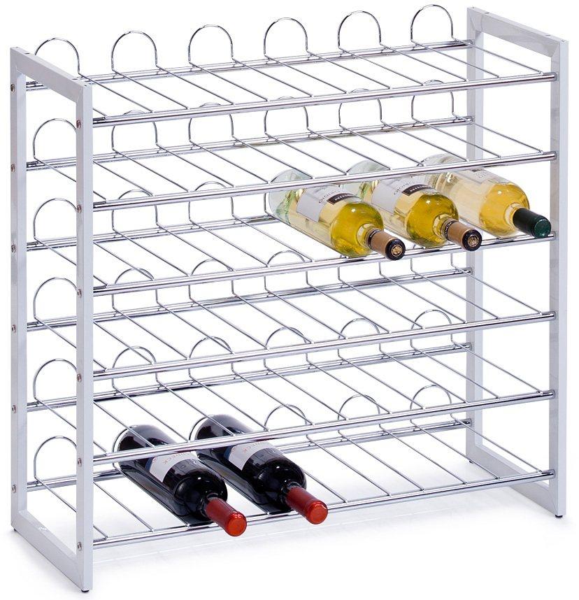 home affaire zeller weinregal f r 36 flaschen modernes. Black Bedroom Furniture Sets. Home Design Ideas