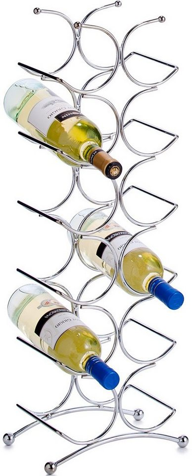 Flaschenhalter, Home affaire in silber