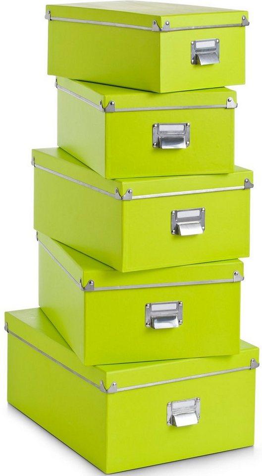 Boxen, Home affaire (5-tlg.) in grün