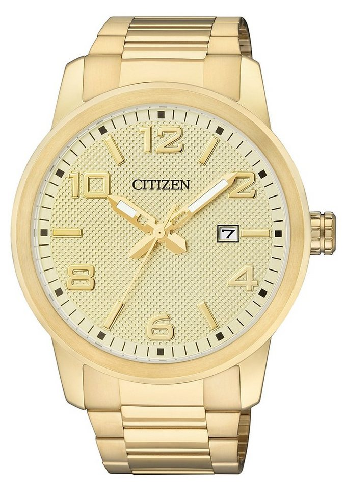 "Citizen, Armbanduhr, ""BI1022-51P"" in goldfarben"