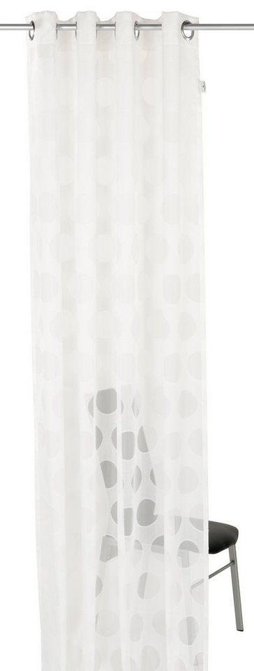 Gardine, Tom Tailor, »Ring« (1 Stück) in weiß