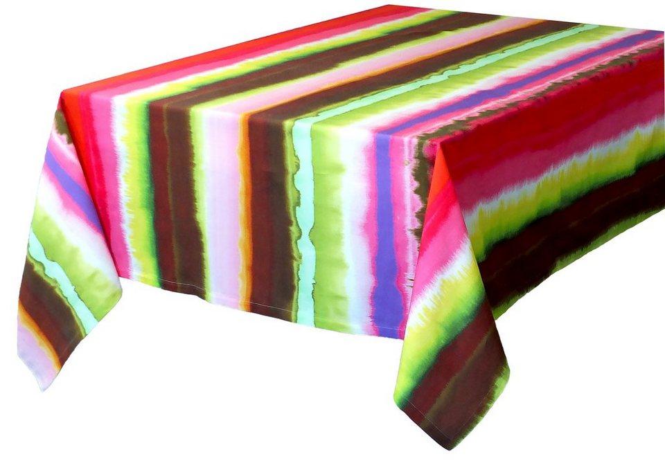 Tischdecke, Tom Tailor, »Rainbow« (1-er Pack) in bunt