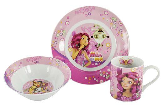 Frühstücksset, »Mia and Me«, United Labels (3tlg.)