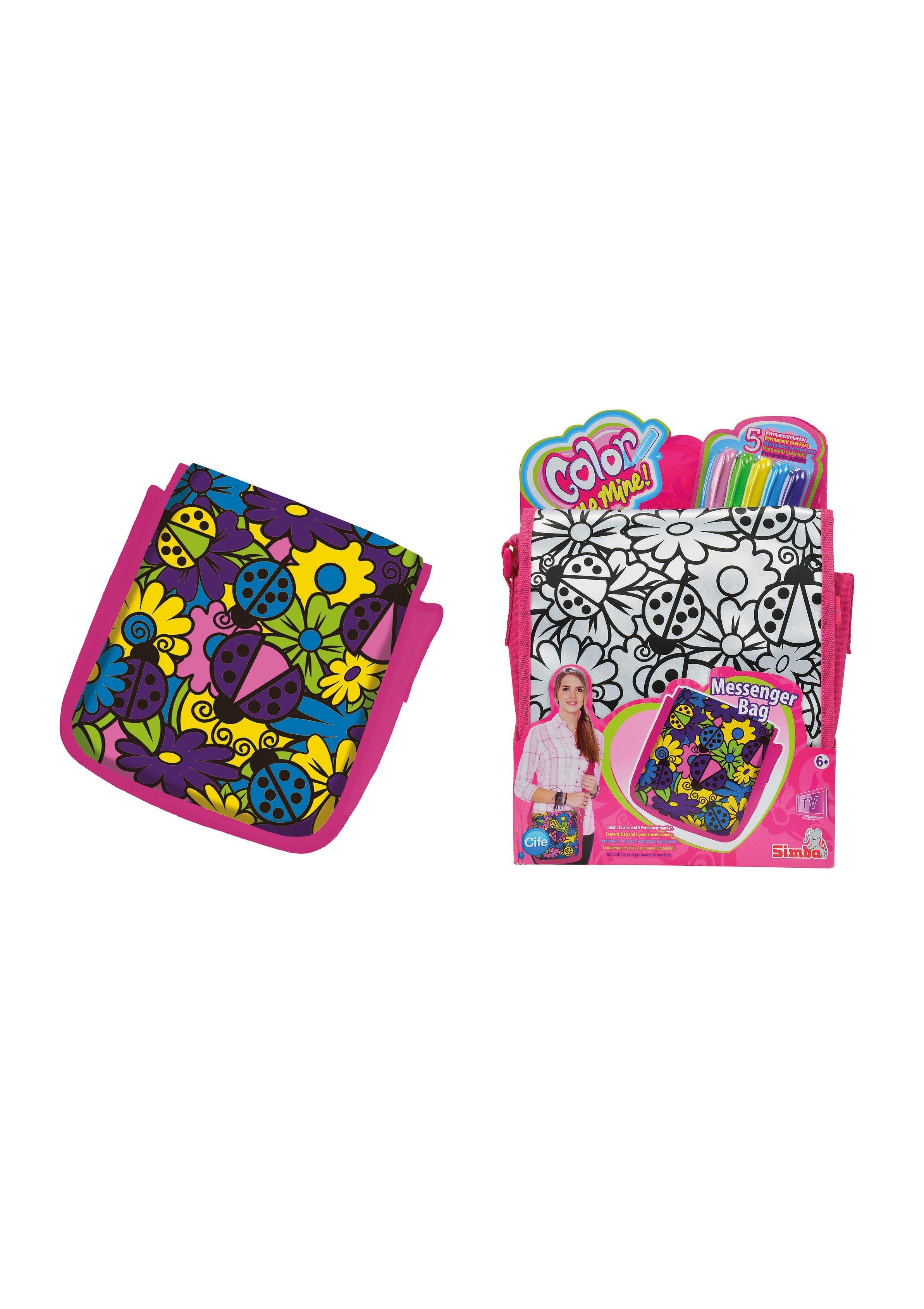 Tasche - Pink Messenger Bag, »Color Me Mine«, Simba®