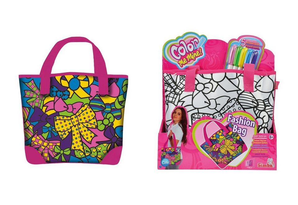 Tasche - Pink Fashion Bag, »Color Me Mine«, Simba®
