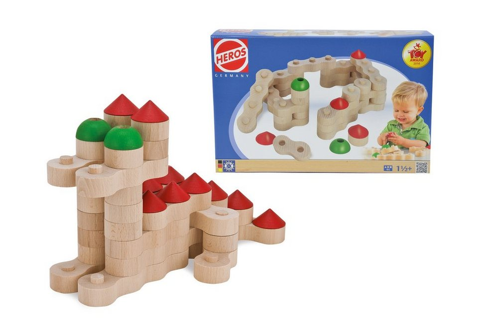 Heros Holzbausteine, »Kettenbausteine Burg«