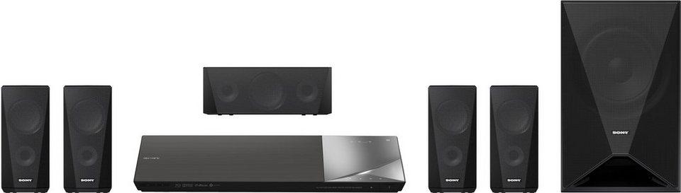 Sony BDV-N5200W Blu-ray Heimkinosystem, 3D in Schwarz