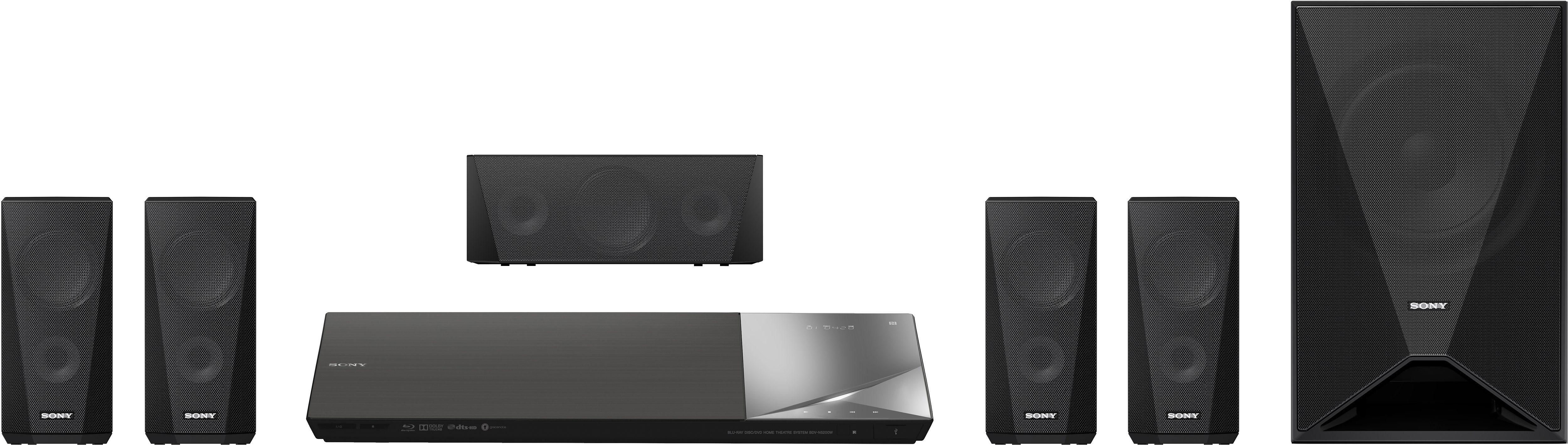 Sony BDV-N5200W Blu-ray Heimkinosystem, 3D