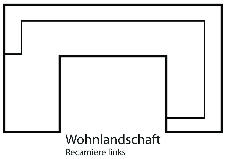 sit&more Wohnlandschaft, wahlweise in XL oder XXL