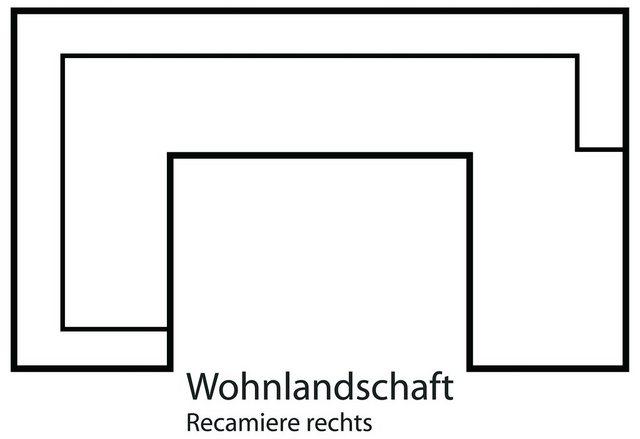 sit&more Wohnlandschaft  wahlweise in XL oder XXL   Wohnzimmer > Sofas & Couches > Wohnlandschaften   sit&more