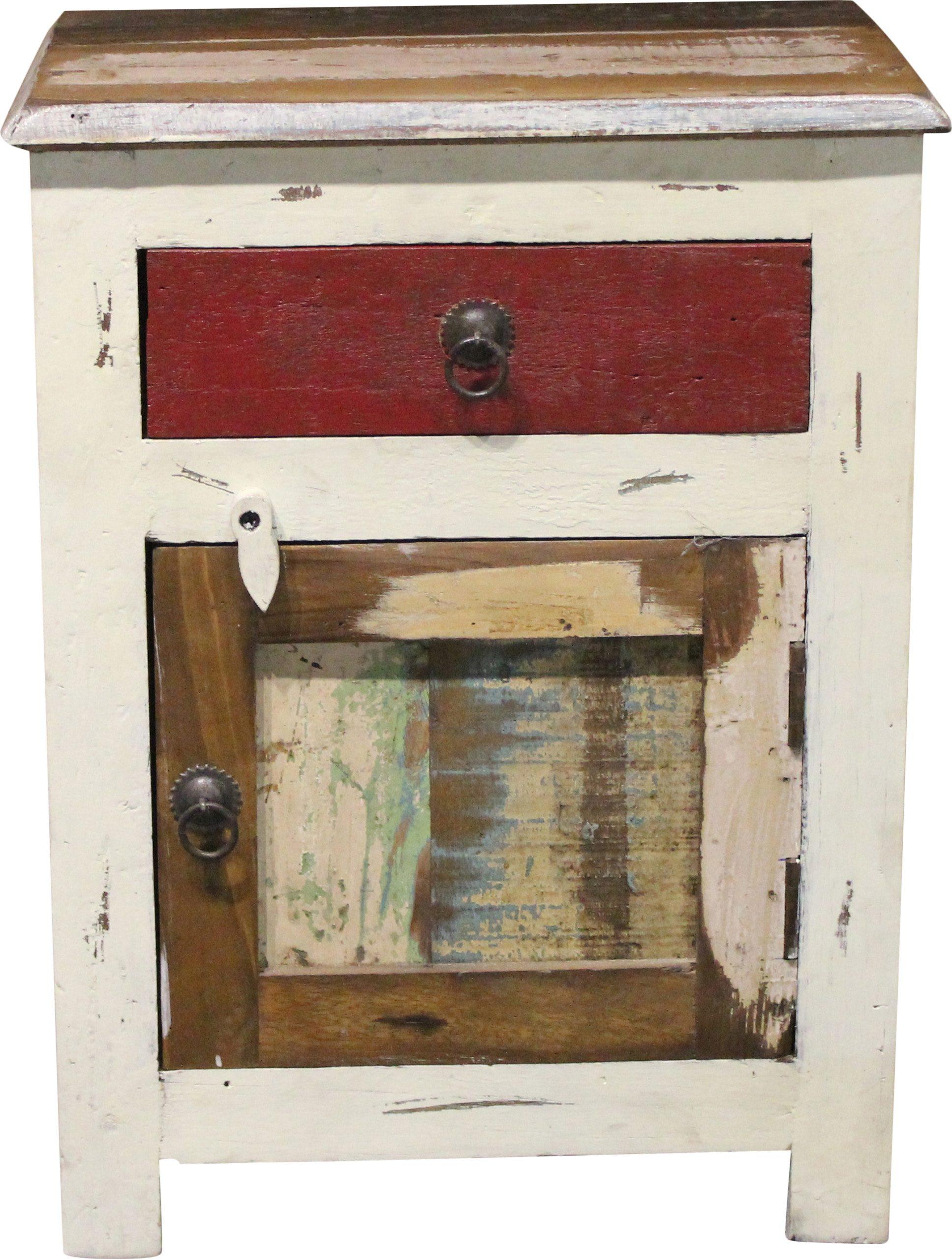 Nachttisch, Home affaire, »Shutter«, Breite 45 cm
