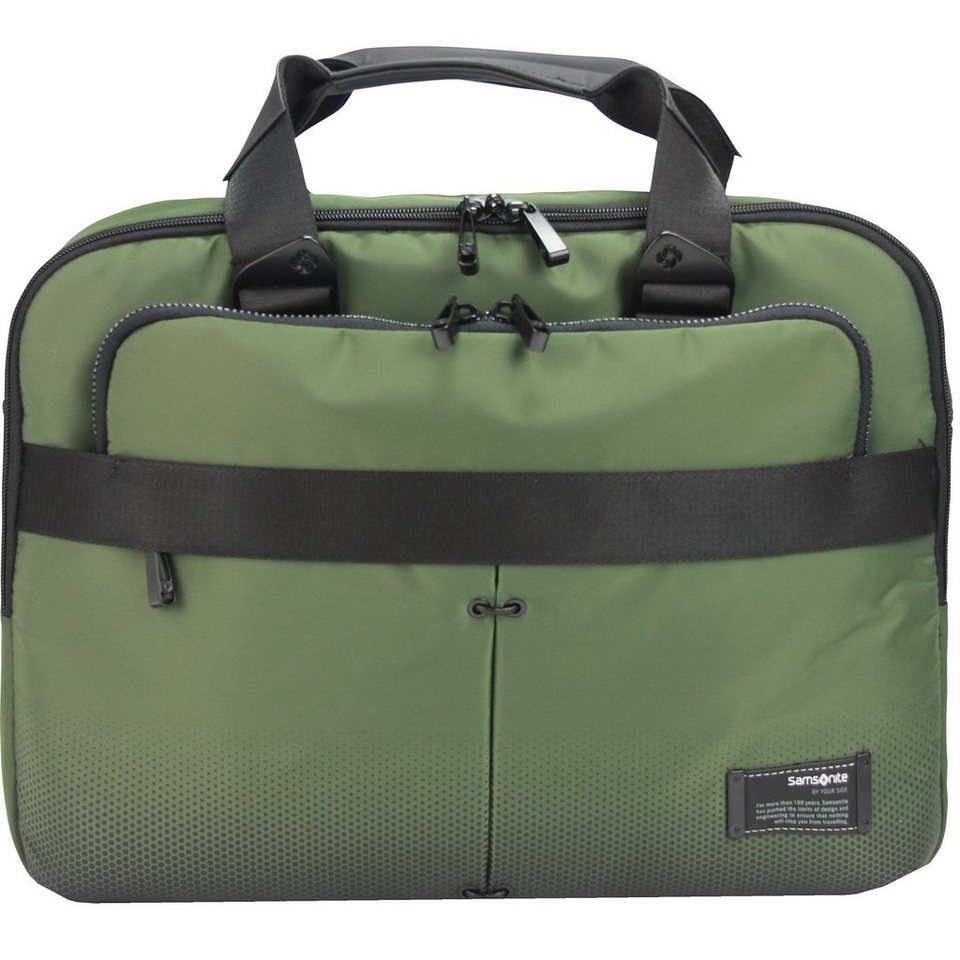 Samsonite Cityvibe Businesstasche 43 cm Laptopfach in urban green