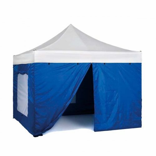 Tentastic Zelte »Seitenwandset Pro Pavillon 3 x 4,5 m« in blau
