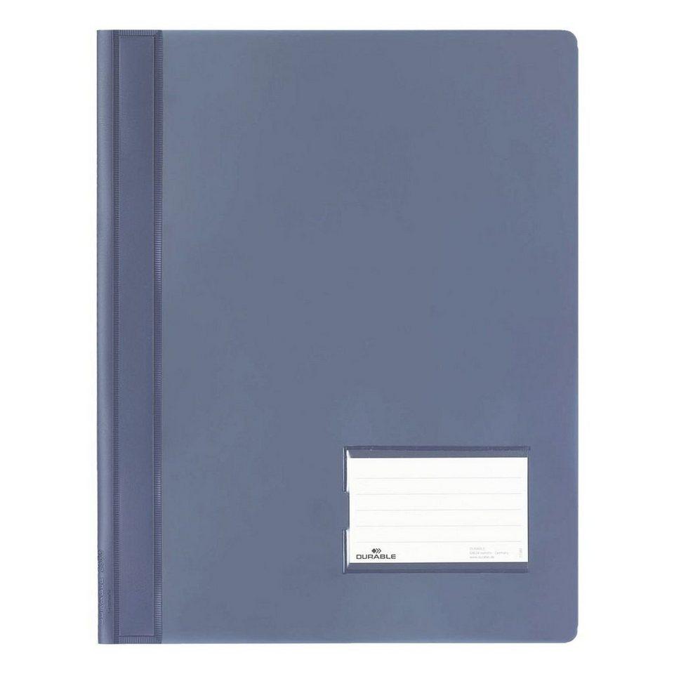 Durable Schnellhefter »Duralux« in blau