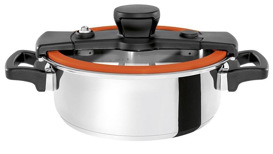 Cookvision Multifunktions-Kochtopf 4,00 Liter »Sizzle« in Mandarine