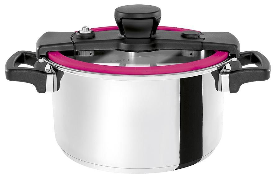 Cookvision Multifunktions-Kochtopf 6,00 Liter »Sizzle« in Pink