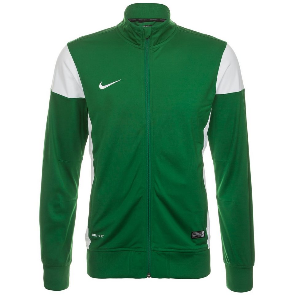 NIKE Academy 14 Sideline Polyesterjacke Herren in grün / weiß