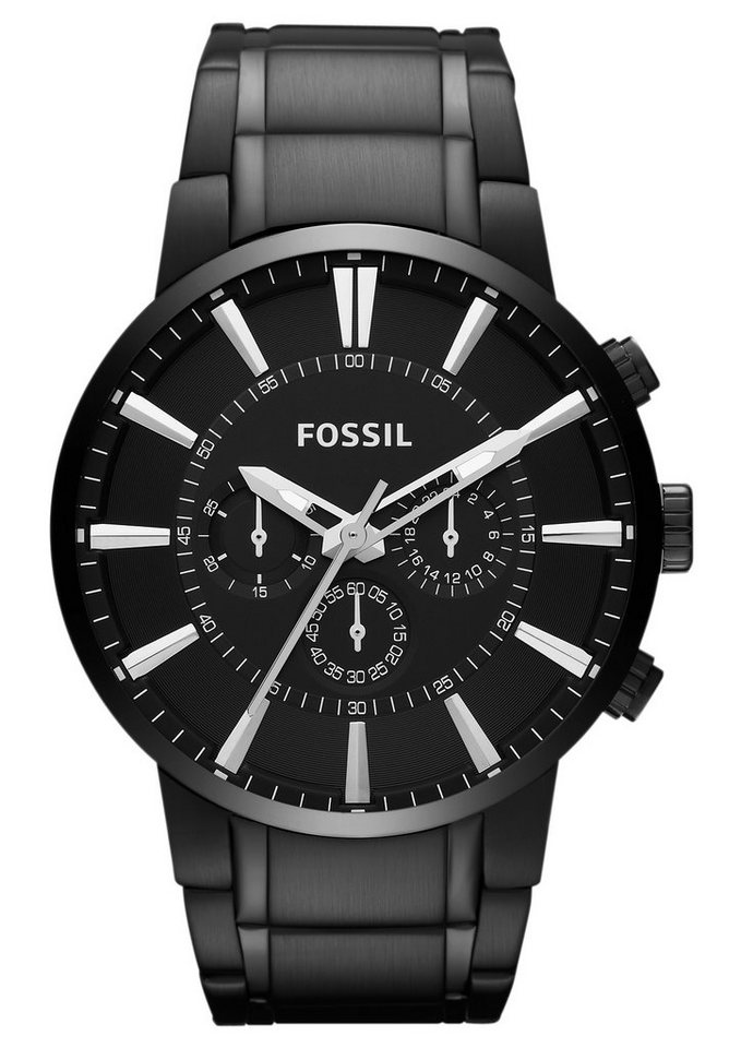 Fossil Chronograph »MEN'S OTHER, FS4778« in schwarz