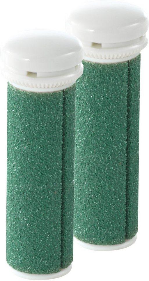 emjoi Micro-Pedi Ersatzrollen 2er-Set sehr grob (grün)