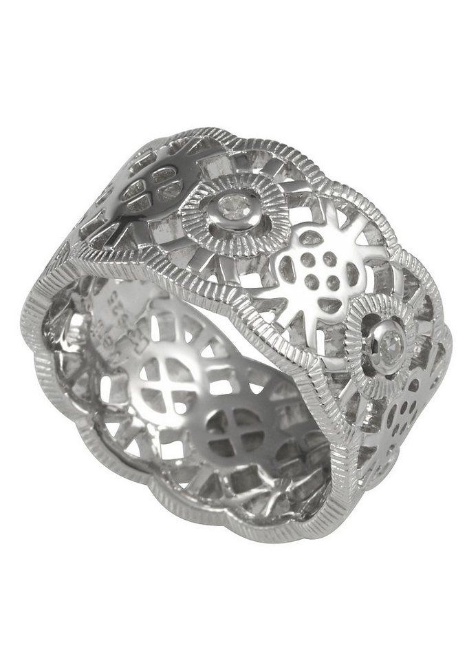 Ring, »M06 13R/90/03«, Merii in Silber 925