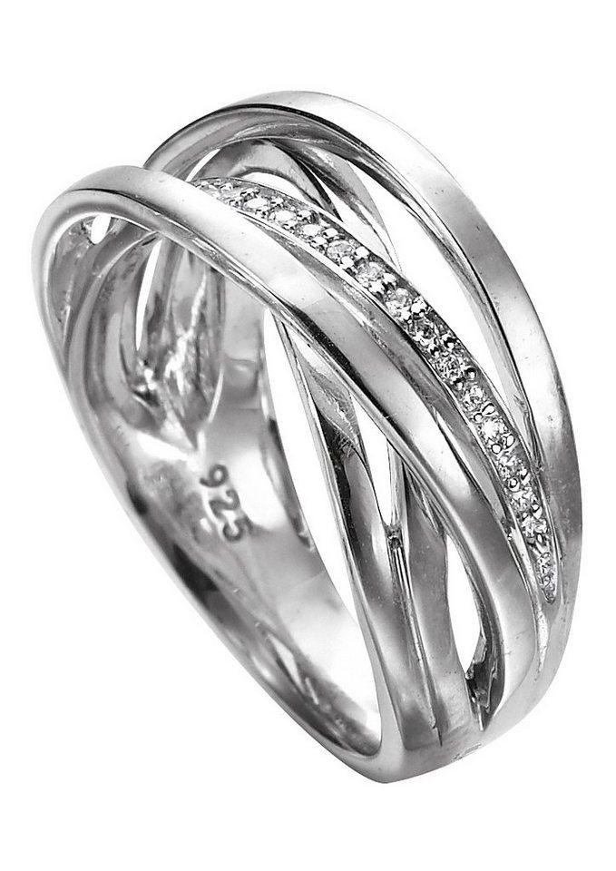 Ring, »M04 52R/90/03«, Merii in Silber 925