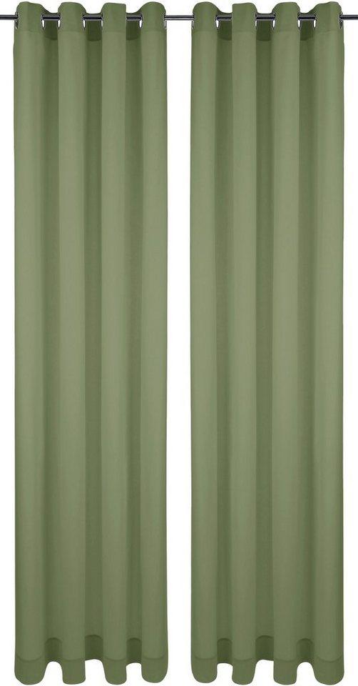 Vorhang, My Home, »Salou« (2 Stück) in bambus