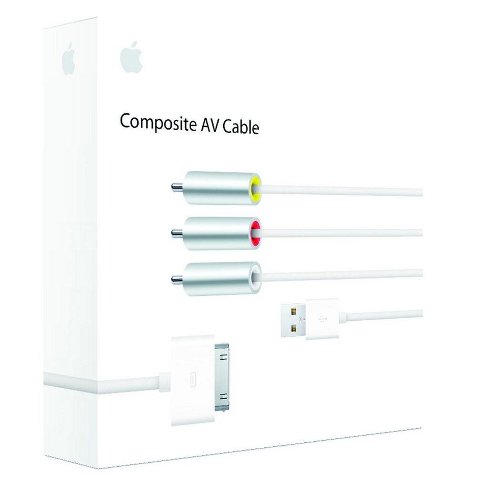 apple kabel av kabel composite video mc748zm a online. Black Bedroom Furniture Sets. Home Design Ideas