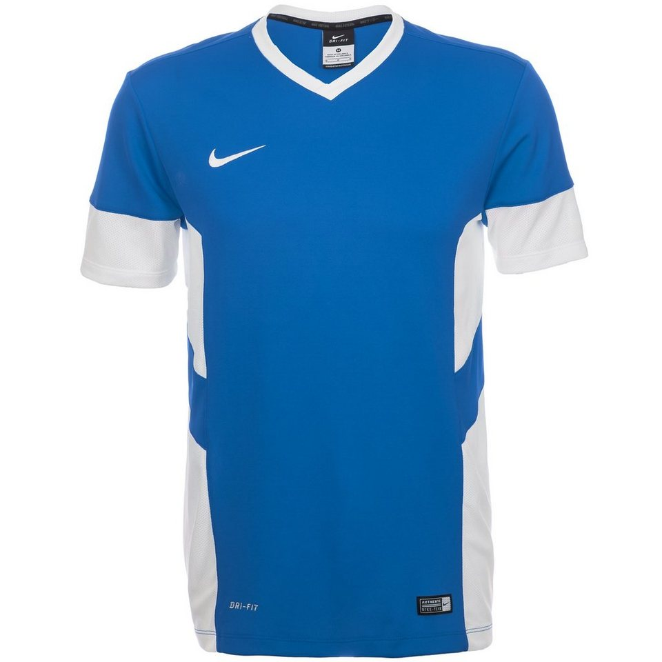 NIKE Academy 14 Trainingsshirt Herren in blau / weiß