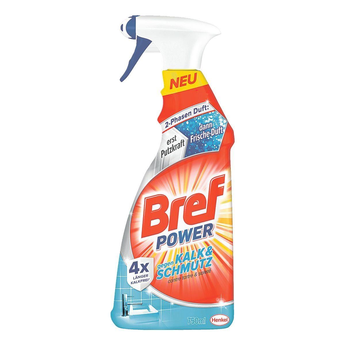 Henkel 8 Flaschen Allzweck-Reiniger »Bref Power«