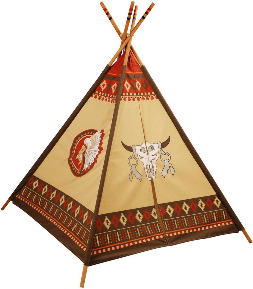 kinderzelt knorr toys tipi online kaufen otto. Black Bedroom Furniture Sets. Home Design Ideas