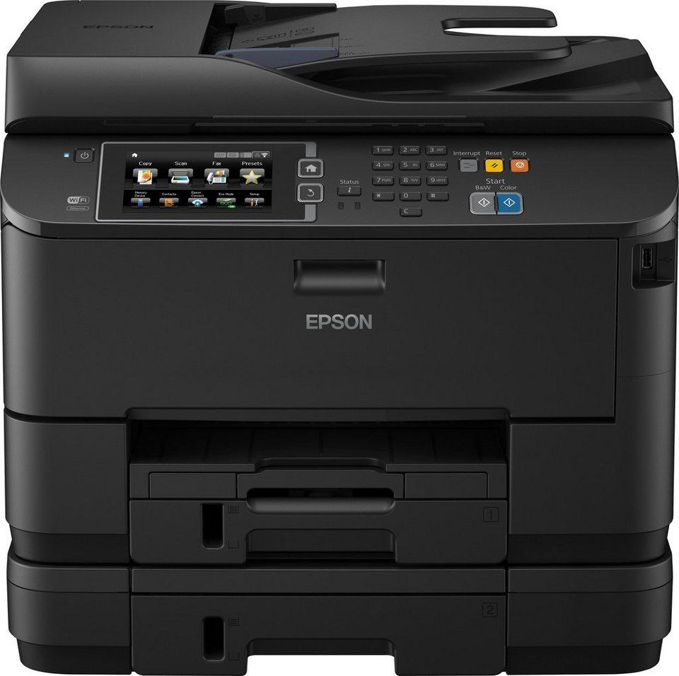 Epson WorkForce Pro WF-4640DTWF Multifunktionsdrucker in Schwarz