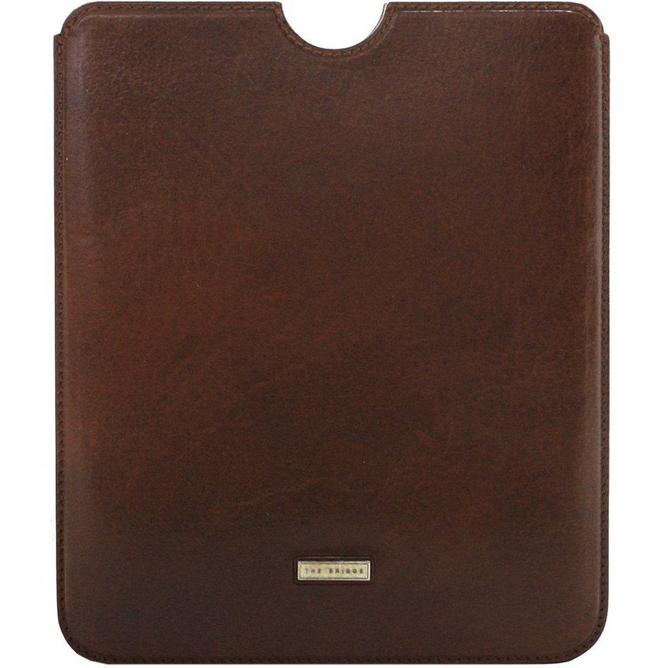 The Bridge Slg Story Line Mini iPad Case Leder 21,2 cm in marrone