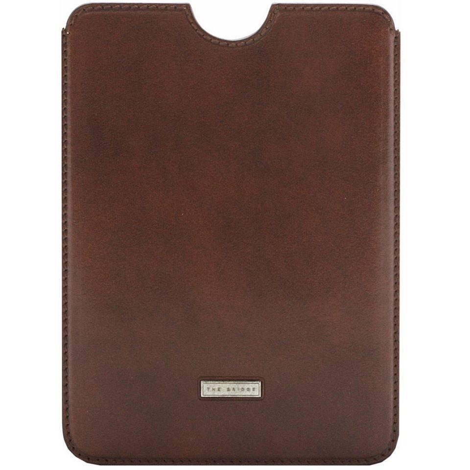 The Bridge Slg Story Line Mini iPad Case Leder 15,7 cm in marrone