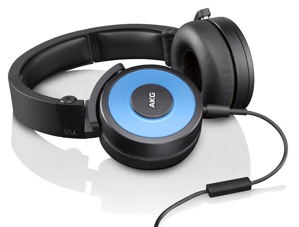 AKG DJ Kopfhörer »Y55 Blau«
