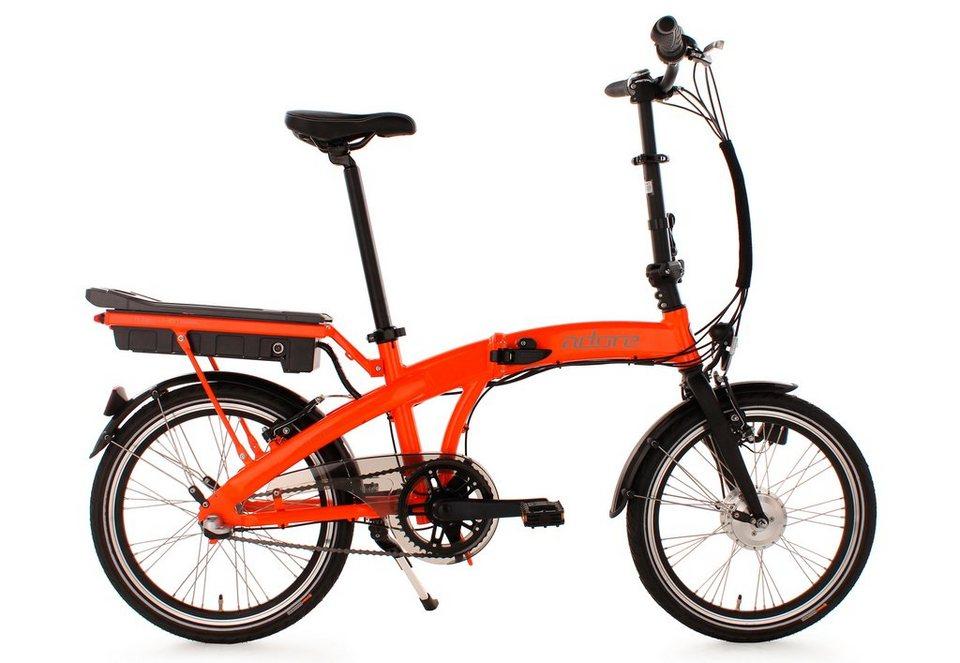 adore falt pedelec 20 zoll orange 3 gang shimano. Black Bedroom Furniture Sets. Home Design Ideas