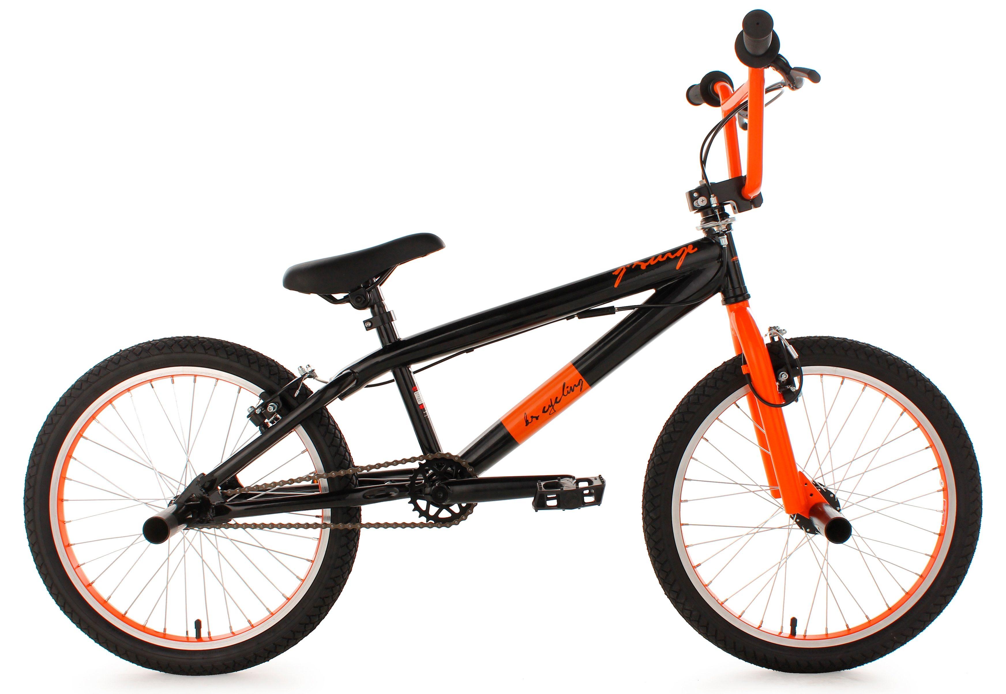 BMX Fahrrad, 20 Zoll, schwarz, »G-Surge«, KS Cycling
