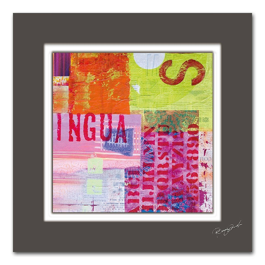 Bild, Home affaire, »Abstrakt«, Maße (B/H): 50/50 cm