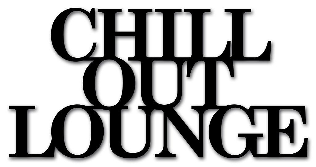 Wandobjekt, Home affaire, »Chill out Lounge«, Maße (B/H): 60/30 cm