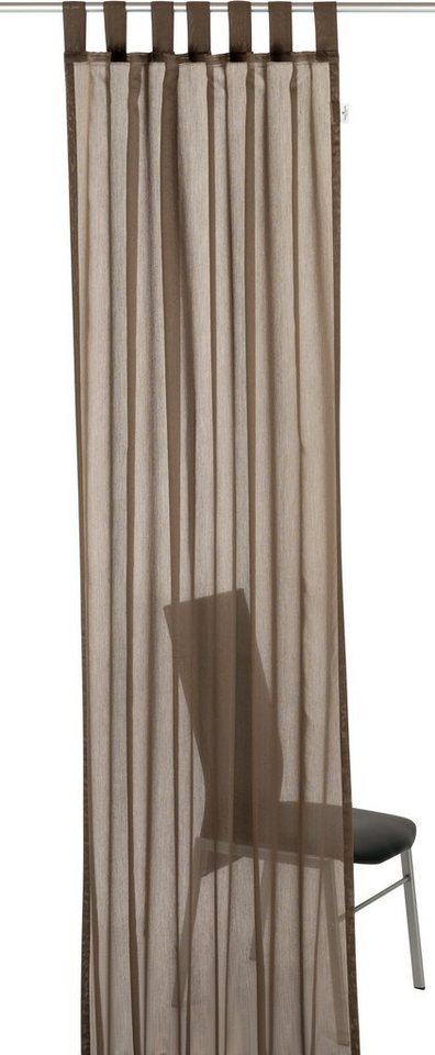 Gardine, Tom Tailor, »Plain« (1 Stück) in braun