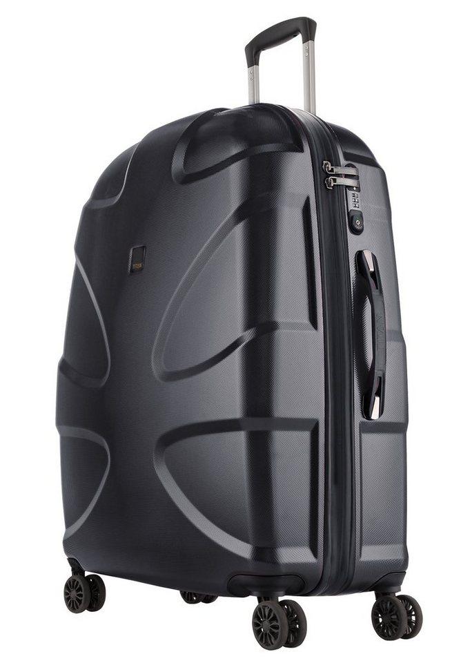 TITAN®, Trolley mit 4 Rollen, »X2« in schwarz
