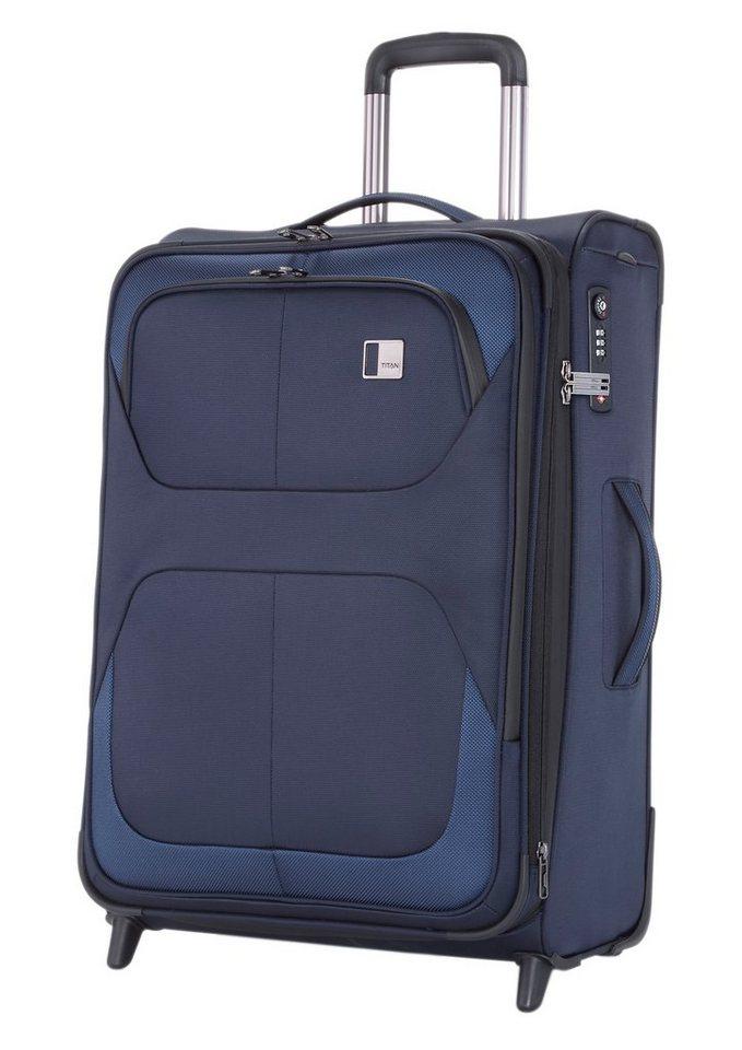 TITAN®, Trolley mit 2 Rollen, »NONSTOP« in blau