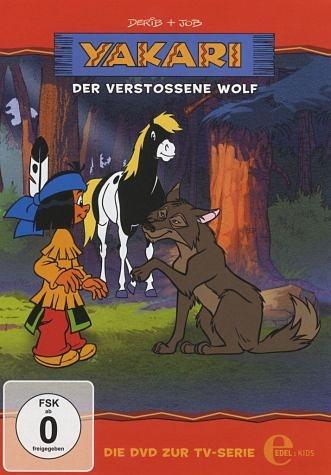 DVD »Yakari - Der verstoßene Wolf«
